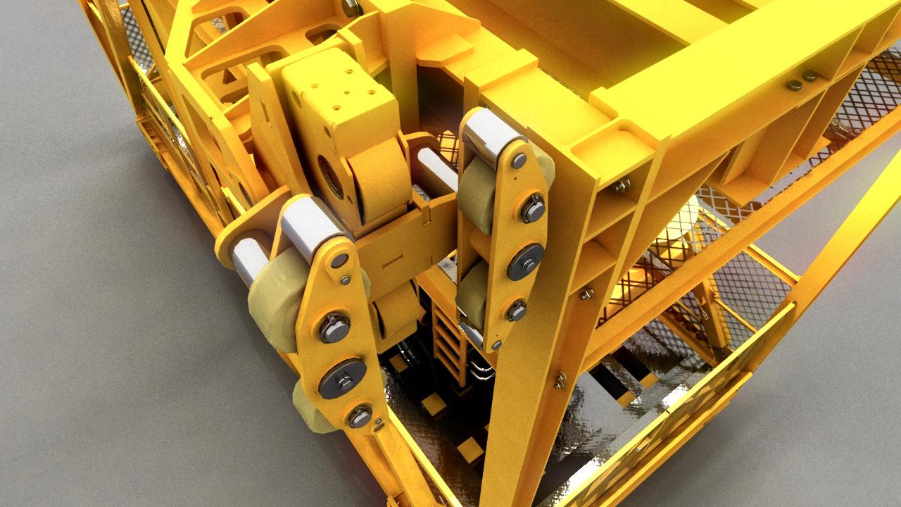 Industrie Visualisierung Strabag Lift