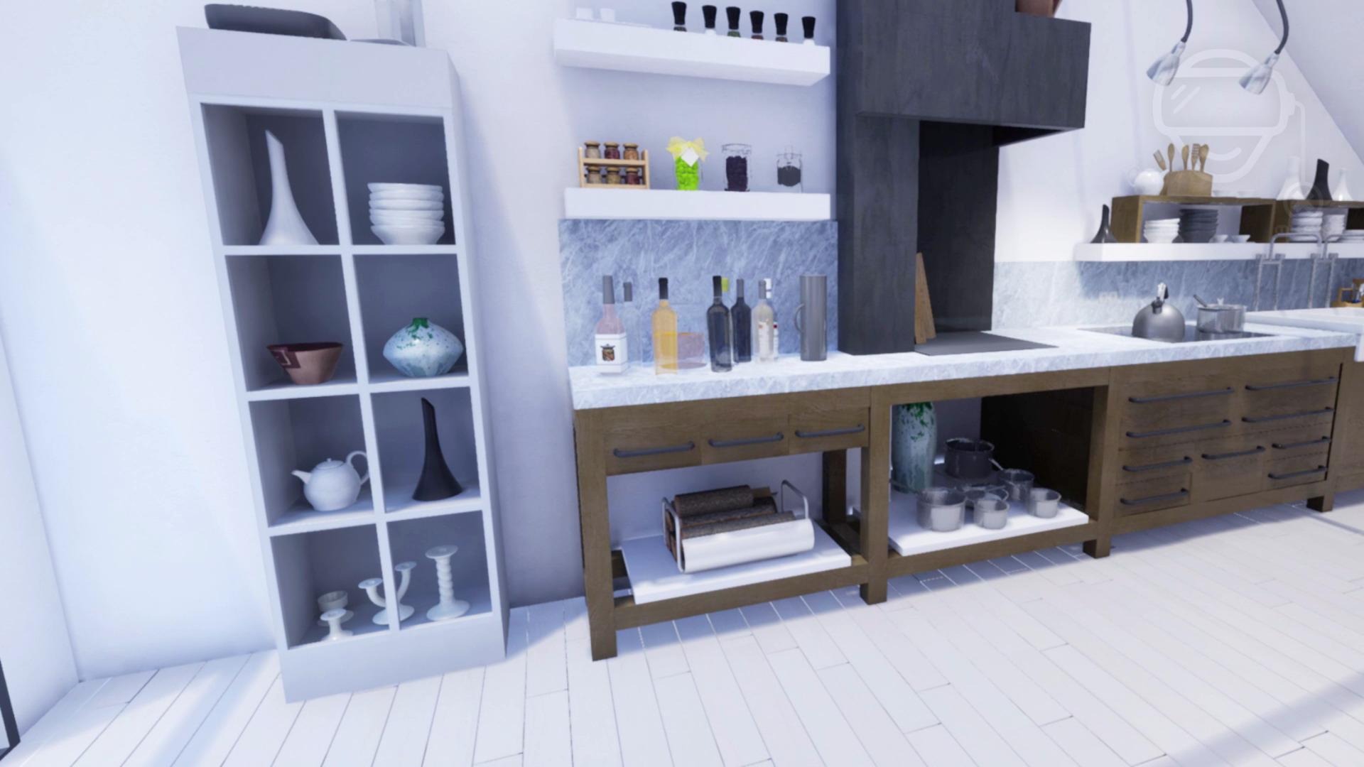 Architektur Wohnung Rendering MKFX Virtual Reality Experience